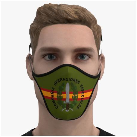 Mascara protectora reutilizable COE