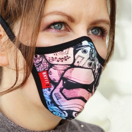 Mascara protectora reutilizable Cas