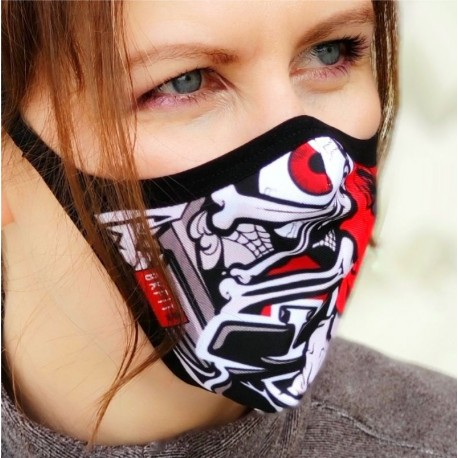 Mascara protectora reutilizable Grafit