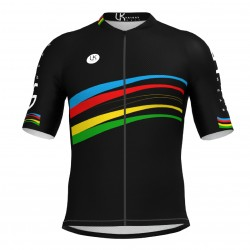 MAILLOT MR-PRO ARCOIRIS BLACK