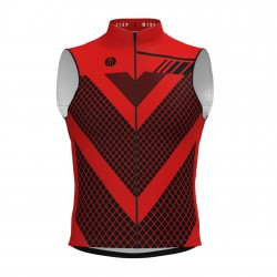 Chaleco Cortavientos XR Scorpion Red