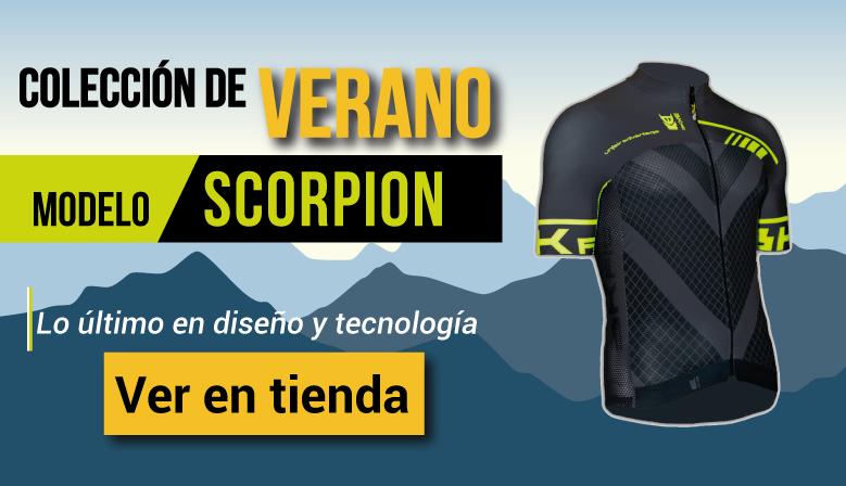 Colección de Verano - Modelo Scorpion