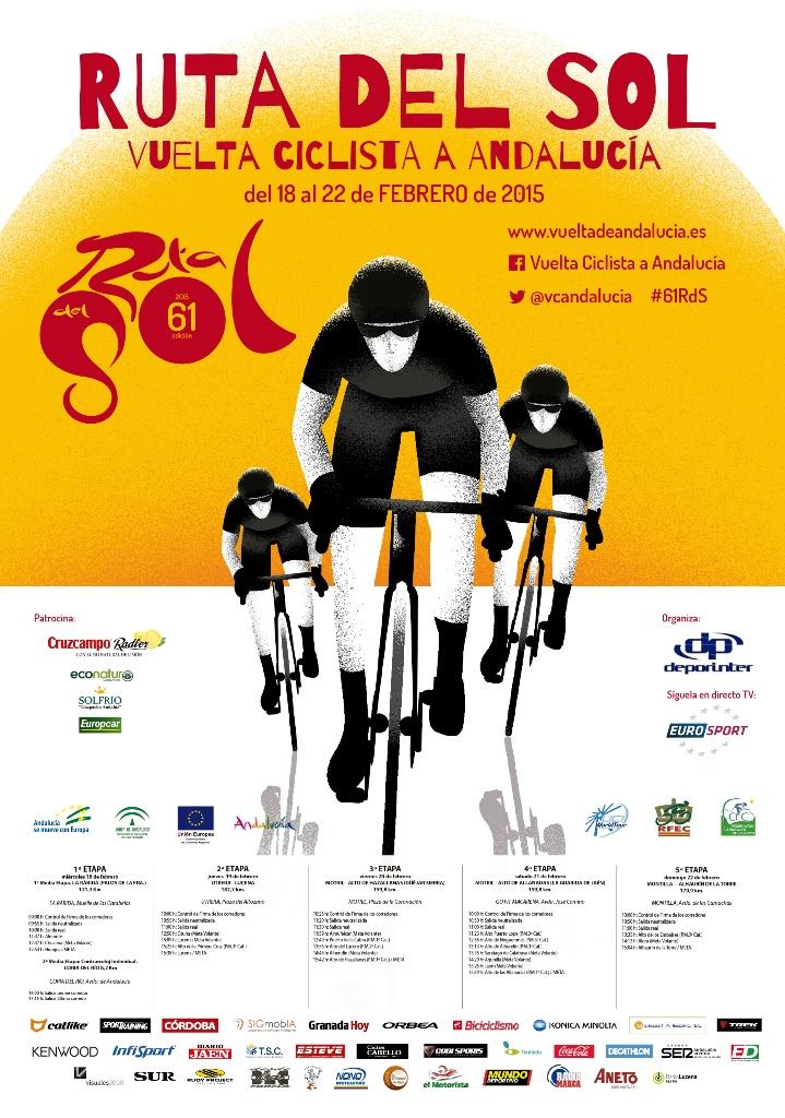 Cartel Vuelta a Andalucía 2015