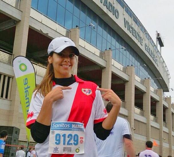 Cristina Pedroche es Runner