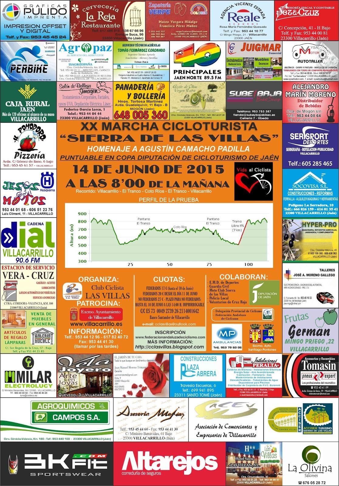 Xx Marcha Cicloturista Sierra De Las Villas Bkfit # Muebles Juigmar