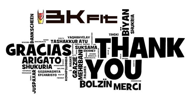 Agradecimiento BKFit 2015